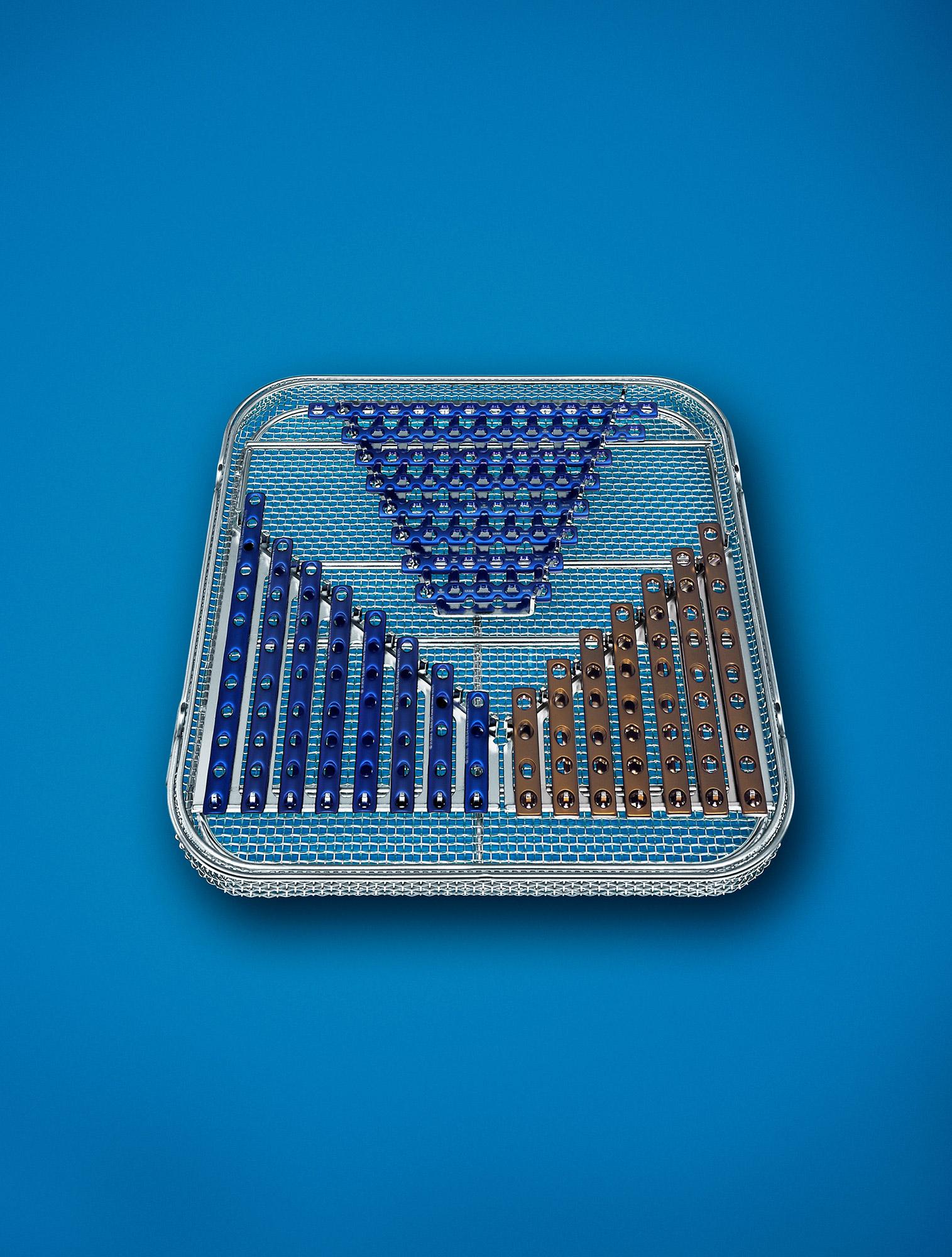 op-siebe implantate werkzeug blau