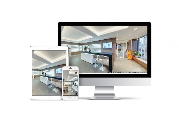 Profitieren Sie von einem 360º virtuellen Rundgang Ihres Unternehmens!