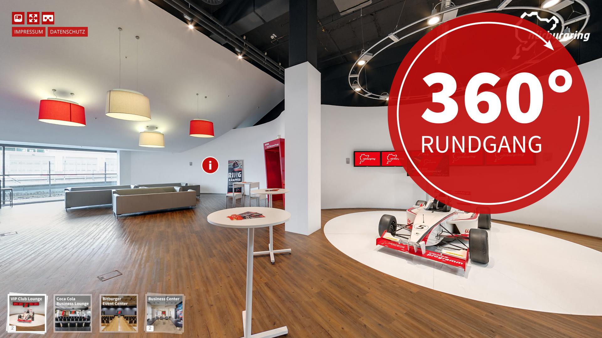 interaktiver 360º Rundgang Nürburgring